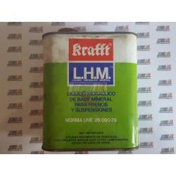 Liquido hidráulico de base mineral para frenos y susensiones