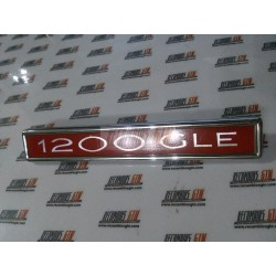 Simca 1200. Anagrama 1200 GLE