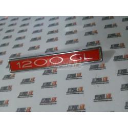 Simca 1200 GL. Anagrama 1200 GL