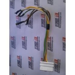 Renault 5. Cables con clemas mando luces