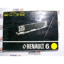 Renault 6. Manual de entretenimiento