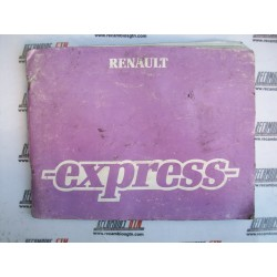 Renault Express. Manual de utilización