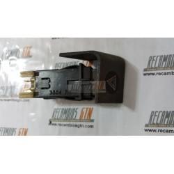Citroen BX. Pulsador luces de emergencia