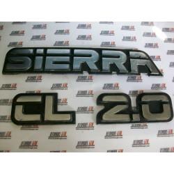 Ford Sierra. Anagrama Sierra CL 2.0
