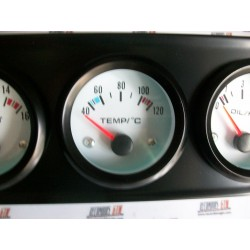 3 Relojes voltimetro, temperatura, presión acete + soporte