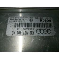 Audi A6. Unidad de control del motor de Ecu