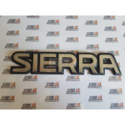 Ford Sierra. Anagrama Sierra