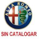 Alfa Romeo SIN CATALOGAR